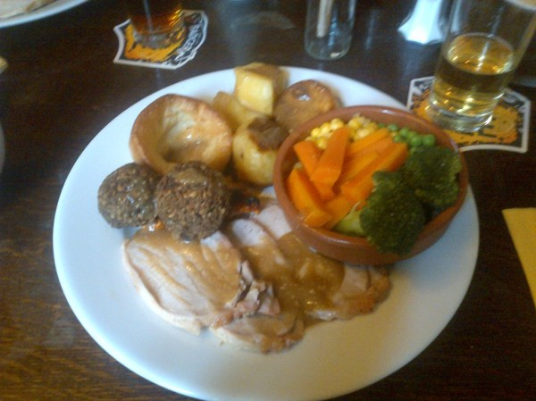 Sunday Roast, Ardingly Inn, West Sussex