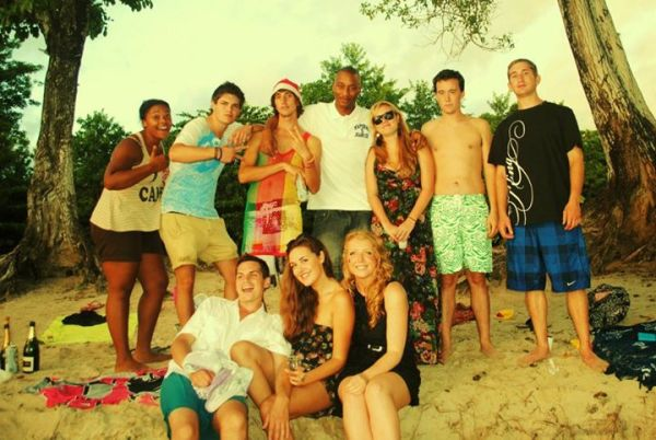 Christmas 2011 in Ste Luce, Martinique with TAPIF, British Council assistants