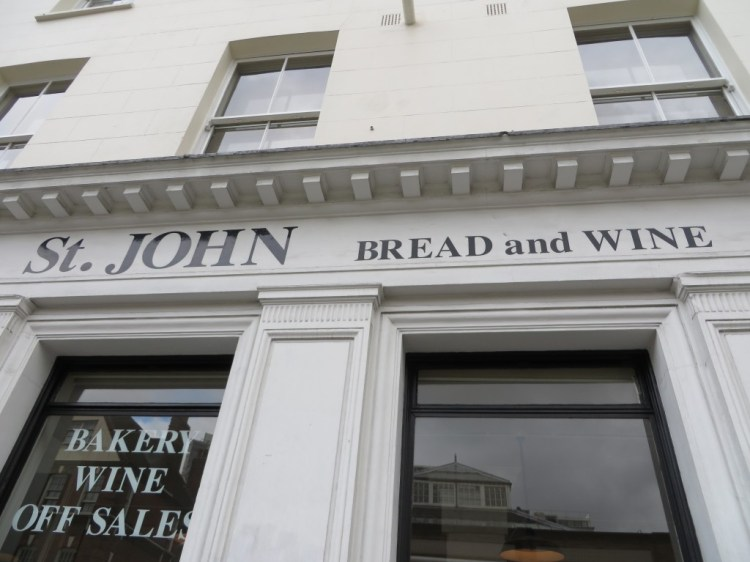 ST JBW, St John Bread and Wine