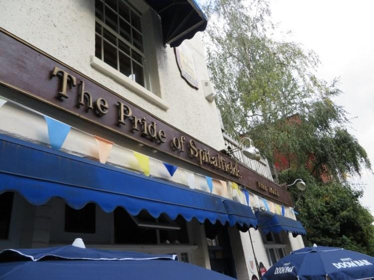 Pride of Spitalfields Pub