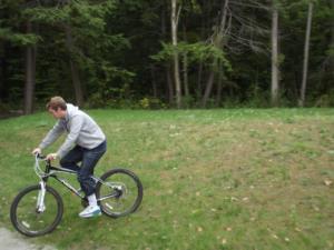 Cycling in Beausoleil Island