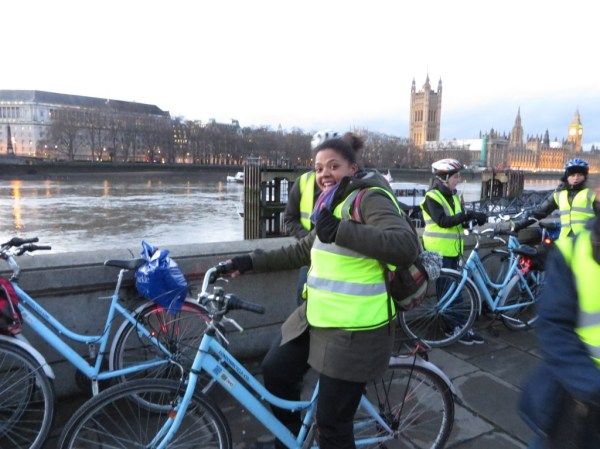 London Bicycle Tour, Thames River