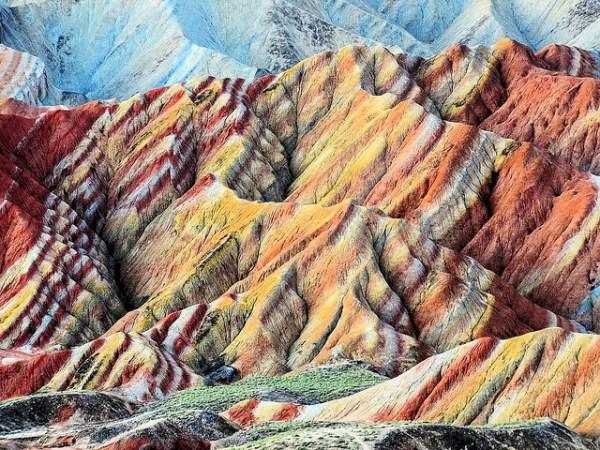 Zhangye Danxia Landform in Gansu, China