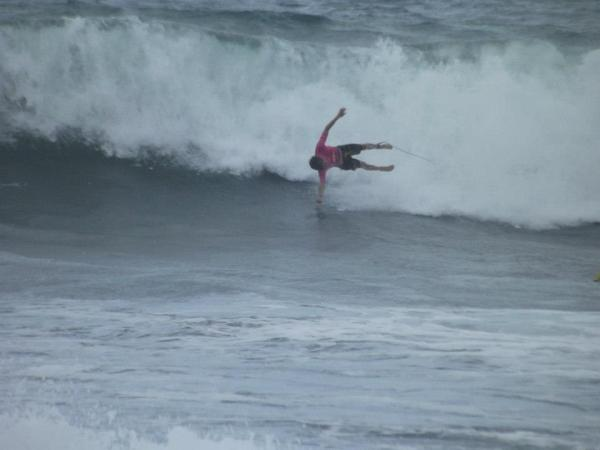 surfing in basse pointe, martinique