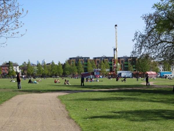 Finsbury Park fair
