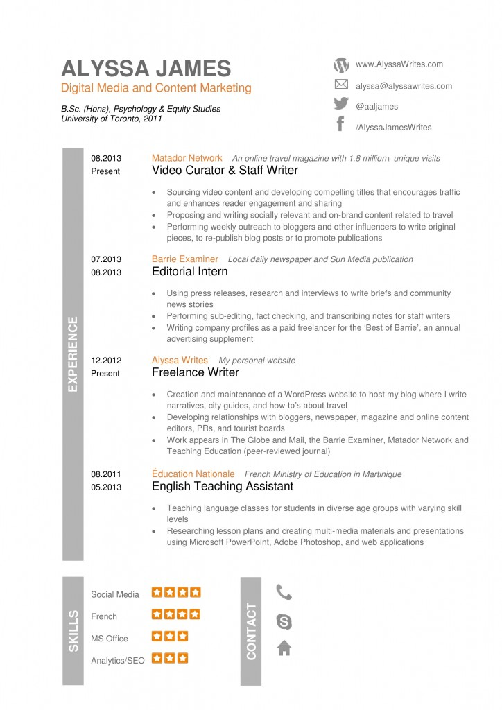 Is A British Cv Different From A North American Resume