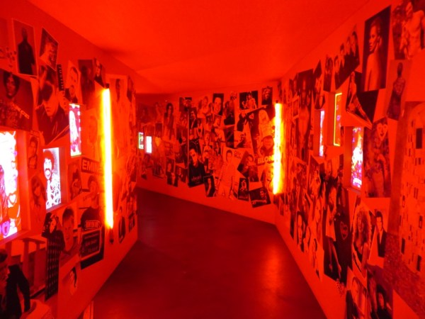Red tunnel, Tunnel of Love, Southbank Centre, Festival of Love