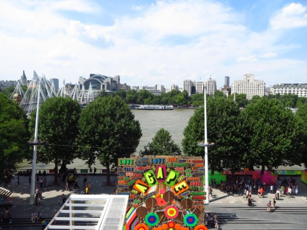 Thames view, Southbank Centre, Royal Festival Hall