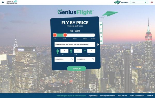 Genius Flight, travel app