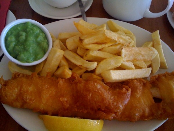 Fish & Chips and Mushy Peas Photo courtesy of drchrispinnock