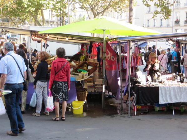 Market in Paris, Maubert Mutualite, Marché au Paris