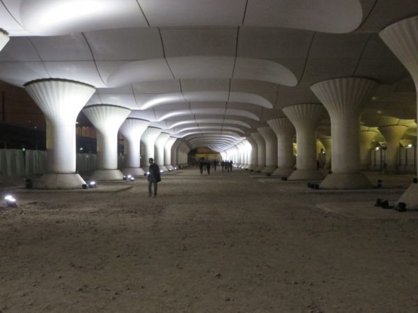 Gare d'Austerlitz, Nuit Blanche, Paris,  Pablo Valbuena, Kinematope