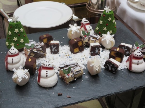 Dessert, Christmas Afternoon Tea, Conrad St. James, Things to do in London for Christmas