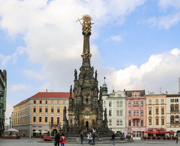 Holy Trinity Column Olomouc, Czech Republic
