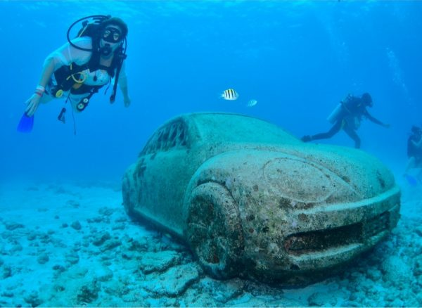 underwater museum, diving in cancun, things to do in cancun