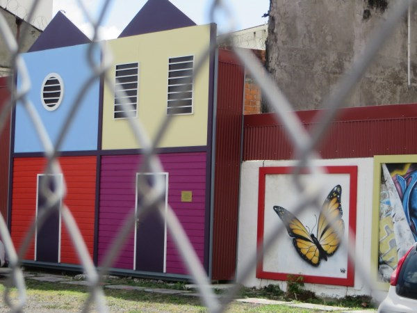 fort de france, martinique, feel like home, what is home, street art, colourful houses