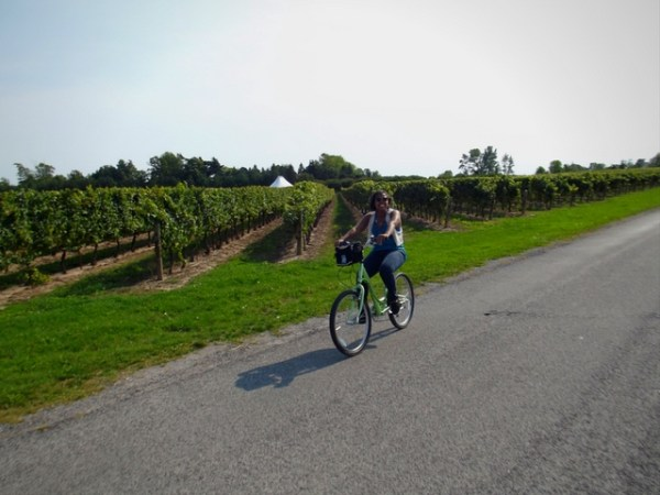 niagara on the lake, things to do in niagara, bicycle wine tour, things to do in toronto, day trips from toronto