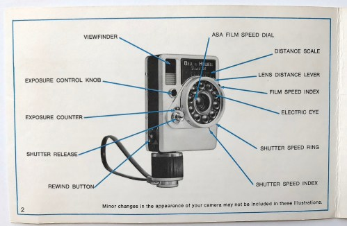 Vintage Bell /& HowellCanon Dail 35 Film Camera