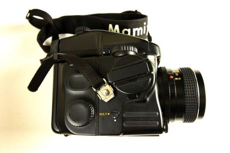Mamiya 645 Pro Side View