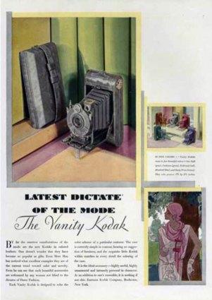 Kodak Vanity Ad 1920
