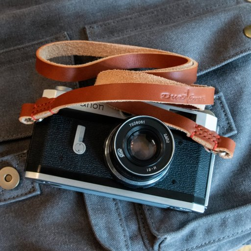 Racer Series Leather Camera Strap Neck Strap