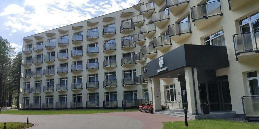 """""""Eglės"""" sanatorija nuo 1972 m. veikia Druskininkuose (nuotr.), o nuo 2013 m. – ir Birštone"""