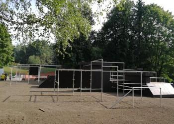 Naujoji kliūčių ruožo (parkūro) aikštelė Jaunimo parke