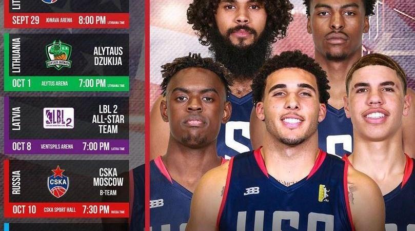 Spalio 1 d.  JAV naujausios JBA krepšinio lygos rinktinė Alytaus arenoje turėtų susitikti su vietos komanda