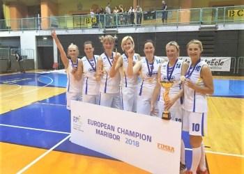 40 metų ir vyresniųjų grupėje alytiškės J. Celujevienė, R. Montvilienė, E. Paužuolienė ir žaidžiančioji komandos trenerė K. Grižienė su kitomis lietuvėmis įveikė visas priešininkes ir tapo Europos čempionėmis