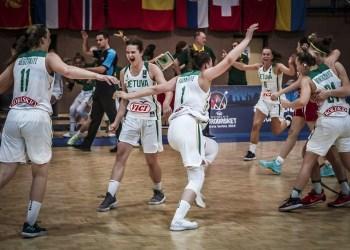 Pusfinalyje lietuvaitės nugalėjo Turkiją ir pateko į Europos čempionato finalą