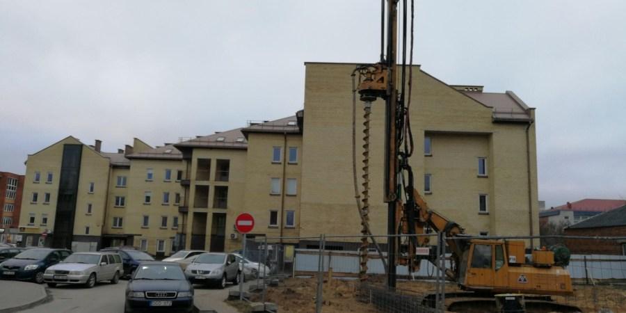 """Į namo S. Taškūno g. 3 suprojektavimą, statybą ir aplinkos sutvarkymą """"Dzūkijos investicijų"""" bendrovės įdedamos investicijos sieks apie 800 tūkst eurų"""