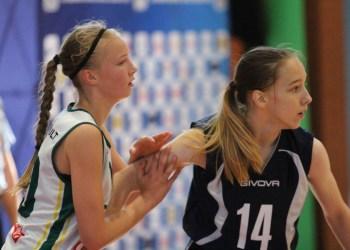 Geriausia Lietuvos krepšinio rinktinės žaidėja G. Laurušaitytė
