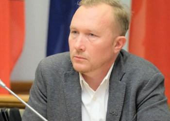 Prisaikdintas naujasis Alytaus miesto tarybos narys T. Sutkaitis