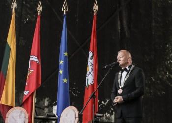"""""""Eidamas į rinkimus žadėjau, kad dirbsiu vieną kadenciją. Esu žodžio žmogus"""", - kalbėjo V. Grigaravičius, patvirtinęs, kad 2019-ųjų pavasarį vyksiančiuose mero rinkimuose savo kandidatūros nekels"""