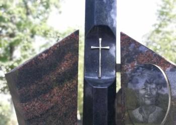 Amžinojo poilsio prieš dešimt metų S. Okunevičiūtė-Nedzinskienė (1950-2011) atgulė Rumbonių (Alytaus r.) kapinėse. Alytausgidas.lt arch. nuotr.