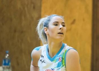 Prie septintosios alytiškių pergalės daugiausia – 19 taškų – prisidėjo R. Žilinskaitė. D. Lukštos nuotr.