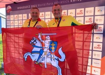 Jono Baltrušaičio treniruojamas alytiškis Donatas Dundzys daugiau nei metru pagerino asmeninį rekordą rutulio stūmimo rungtyje