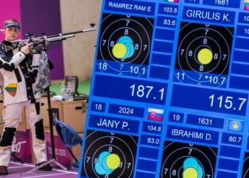 Alytiškio K. Girulio debiutas Japonijoje vykstančioje Tokijo olimpiadoje