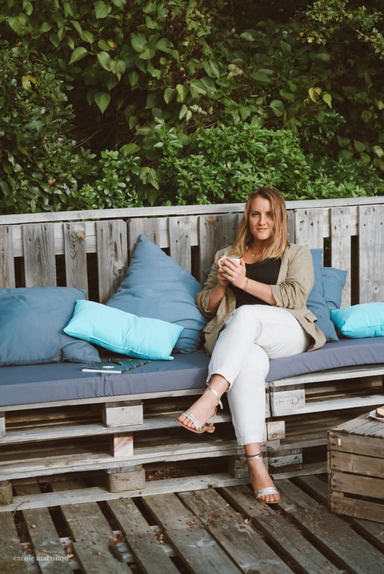 Alice Genevieve coach sportif et de santé holistique, créatrice de la marque Alyve