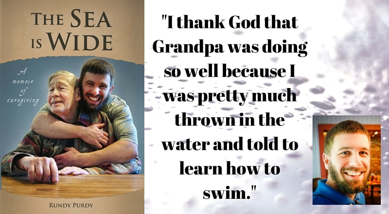 """Meet Rundy Purdy, author of """"The Sea Is Wide"""""""