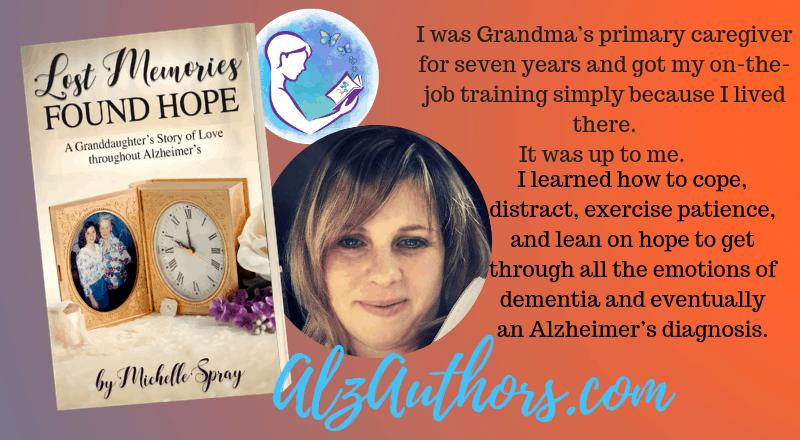 "Meet Michelle Spray, author of ""Lost Memories Found Hope"""