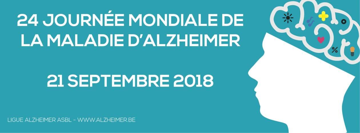 21 septembre : 24e journée mondiale de la maladie d'Alzheimer