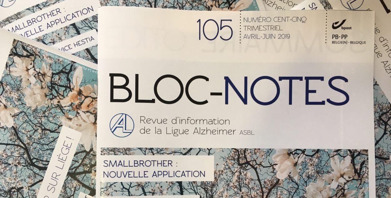 Bloc-notes 105 : dans les bacs!