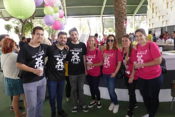 III Movida solidaria, voluntarios
