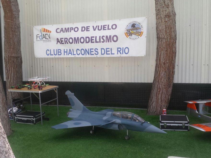 aeromodelismo IV Movida solidaria