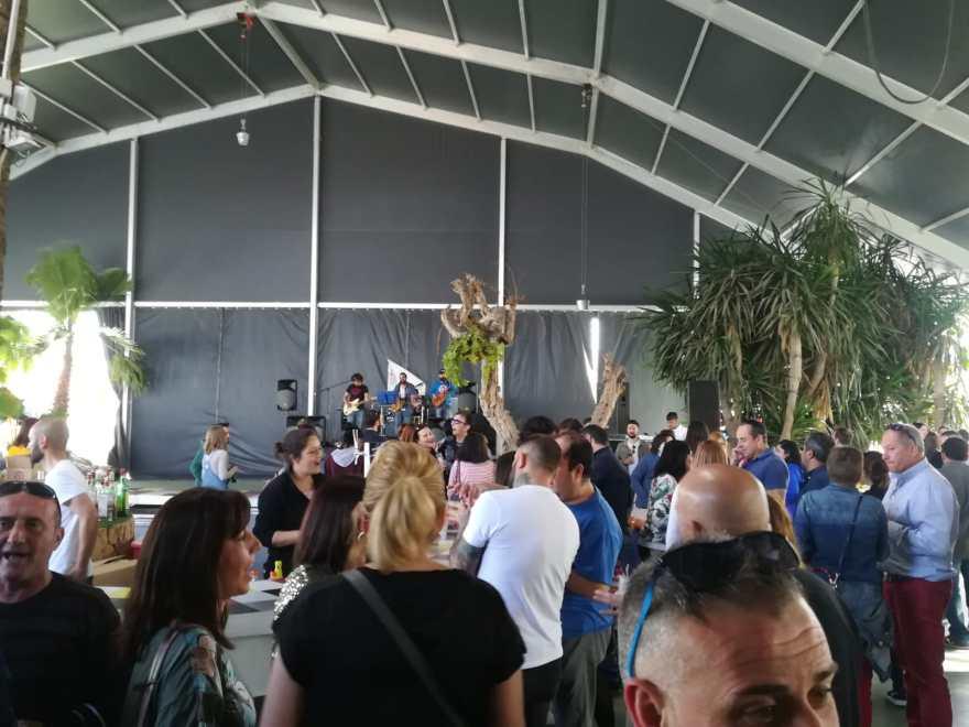Tardeo, Actuación grupo Cactus Mama V Movida Solidaria Alzheimer Bigastro