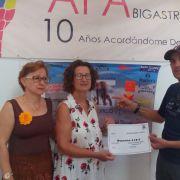 Donativo José Solista a la Asociación Alzheimer Bigastro