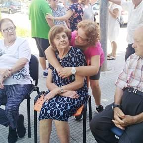 Trabajadora y usuaria - Día Mundial del Alzheimer