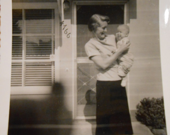 Diana & Mother_1957