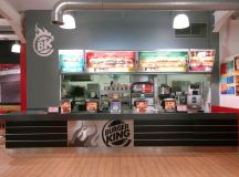 Burger King Restaurant Design, Boucher Retail Park, Belfast